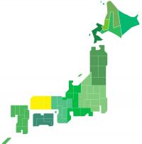 日本地図(中国)